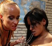 Katy Parker & Leilla Lesbian Bondage - Mighty Mistress 17
