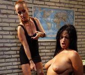 Katy Parker & Leilla Lesbian Bondage - Mighty Mistress 18