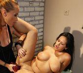Katy Parker & Leilla Lesbian Bondage - Mighty Mistress 24