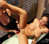 Katy Parker & Leilla Lesbian Bondage - Mighty Mistress 25