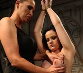 Mandy Bright & Estella Lesbian BDSM - Mighty Mistress 10
