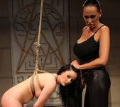 Mandy Bright & Estella Lesbian BDSM - Mighty Mistress 13