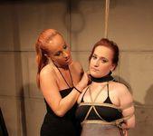 Katy Parker & Kyra Lesbian Slave - Mighty Mistress 7