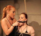 Katy Parker & Kyra Lesbian Slave - Mighty Mistress 8