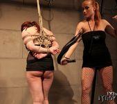Katy Parker & Kyra Lesbian Slave - Mighty Mistress 11