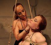 Katy Parker & Kyra Lesbian Slave - Mighty Mistress 13