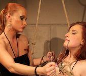 Katy Parker & Kyra Lesbian Slave - Mighty Mistress 18