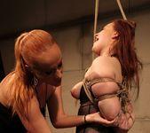 Katy Parker & Kyra Lesbian Slave - Mighty Mistress 19
