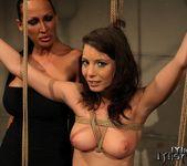 Mandy Bright & Zyna Baby Lesbian Punishment 8