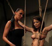 Mandy Bright & Zyna Baby Lesbian Punishment 9