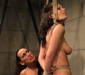 Mandy Bright & Zyna Baby Lesbian Punishment 14