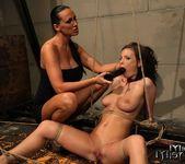 Mandy Bright & Zyna Baby Lesbian Punishment 18