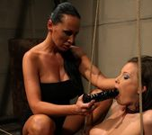 Mandy Bright & Zyna Baby Lesbian Punishment 19