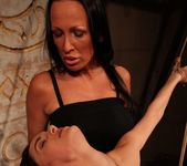 Mandy Bright & Aleksandra Black Lesbian Punishment 11