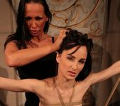 Mandy Bright & Aleksandra Black Lesbian Punishment 13