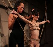 Mandy Bright & Aleksandra Black Lesbian Punishment 14