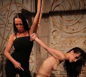 Mandy Bright & Aleksandra Black Lesbian Punishment 17