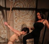 Mandy Bright & Aleksandra Black Lesbian Punishment 20