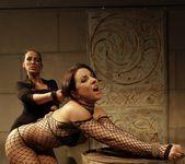 Mandy Bright & Maria Bellucci Lesbian Slave 15