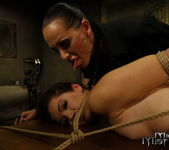 Mandy Bright & Issa Bella Lesbian Punishment 10
