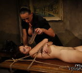 Mandy Bright & Issa Bella Lesbian Punishment 22