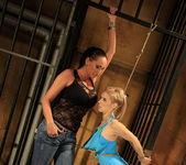 Mandy Bright & Nesty Lesbian Slave - Mighty Mistress 7