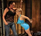 Mandy Bright & Nesty Lesbian Slave - Mighty Mistress 8