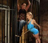 Mandy Bright & Nesty Lesbian Slave - Mighty Mistress 10