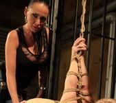 Mandy Bright & Nesty Lesbian Slave - Mighty Mistress 13