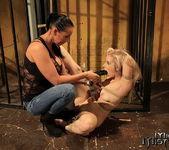 Mandy Bright & Nesty Lesbian Slave - Mighty Mistress 19