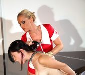 Betty & Kathia Nobili Lesbian Slave - Mighty Mistress 19