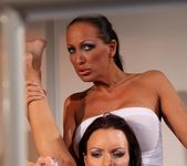 Mandy Bright & Vivien Bianchy Lesbian BDSM - Mighty Mistress 30