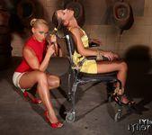 Kathia Nobili & Bianca Arden Lesbian BDSM - Mighty Mistress 4