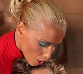 Kathia Nobili & Bianca Arden Lesbian BDSM - Mighty Mistress 15