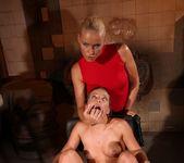 Kathia Nobili & Bianca Arden Lesbian BDSM - Mighty Mistress 30