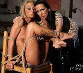Mandy Bright & Pearl Diamond Lesbian BDSM - Mighty Mistress 12