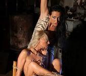 Mandy Bright & Pearl Diamond Lesbian BDSM - Mighty Mistress 14