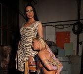 Mandy Bright & Pearl Diamond Lesbian BDSM - Mighty Mistress 16