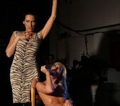 Mandy Bright & Pearl Diamond Lesbian BDSM - Mighty Mistress 24