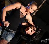 Kathia Nobili & Barbie Pink Lesbian Bondage 8
