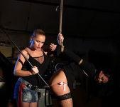 Kathia Nobili & Barbie Pink Lesbian Bondage 9