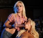Trisha & Lee Lexxus Lesbian Slave - Mighty Mistress 28