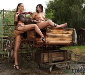 Mandy Bright & Samy Omidee Lesbian Slave - Mighty Mistress 7
