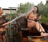 Mandy Bright & Samy Omidee Lesbian Slave - Mighty Mistress 12