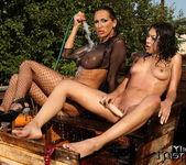 Mandy Bright & Samy Omidee Lesbian Slave - Mighty Mistress 27