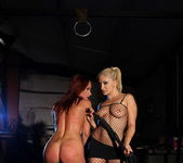 Lee Lexxus & Kitty White Lesbian Bondage - Mighty Mistress 12