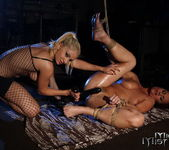 Lee Lexxus & Kitty White Lesbian Bondage - Mighty Mistress 21