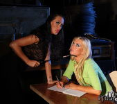 Mandy Bright & Angelic Diamond Lesbian Bondage 7