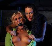Mandy Bright & Angelic Diamond Lesbian Bondage 11