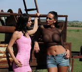 Mandy Bright & Black Sonja Dominatrix - Mighty Mistress 8